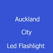 Auckland City led flashlight icon
