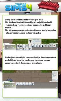 Trucos for Sims 4 screenshot 3