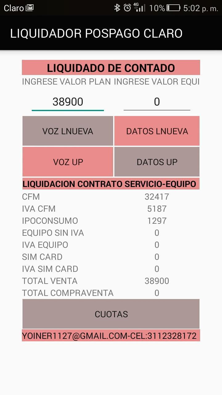 Liquidador Pospago Claro for Android - APK Download