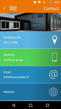 Zwemschool ZwemZeker screenshot 2