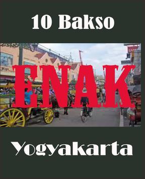 10 Bakso Paling Enak Di Yogyakarta poster