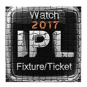 2017 IPL;Fixture,Stream,Ticket icon