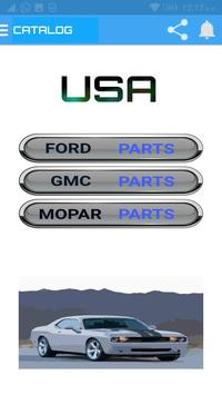Spare parts cars & Catalog screenshot 1