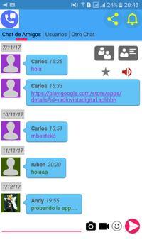 Chat de Amigos screenshot 2