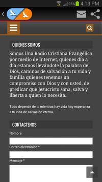 RadioMaranatha.org screenshot 5