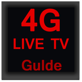 Live 4G TV; HD Guide, Full Info Live TV (Guide) icon