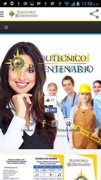 Politécnico Bicentenario poster