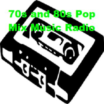 70s and 80s Pop Mix Music Radio poster