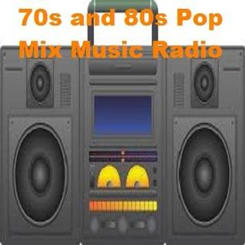 70s and 80s Pop Mix Music Radio screenshot 1