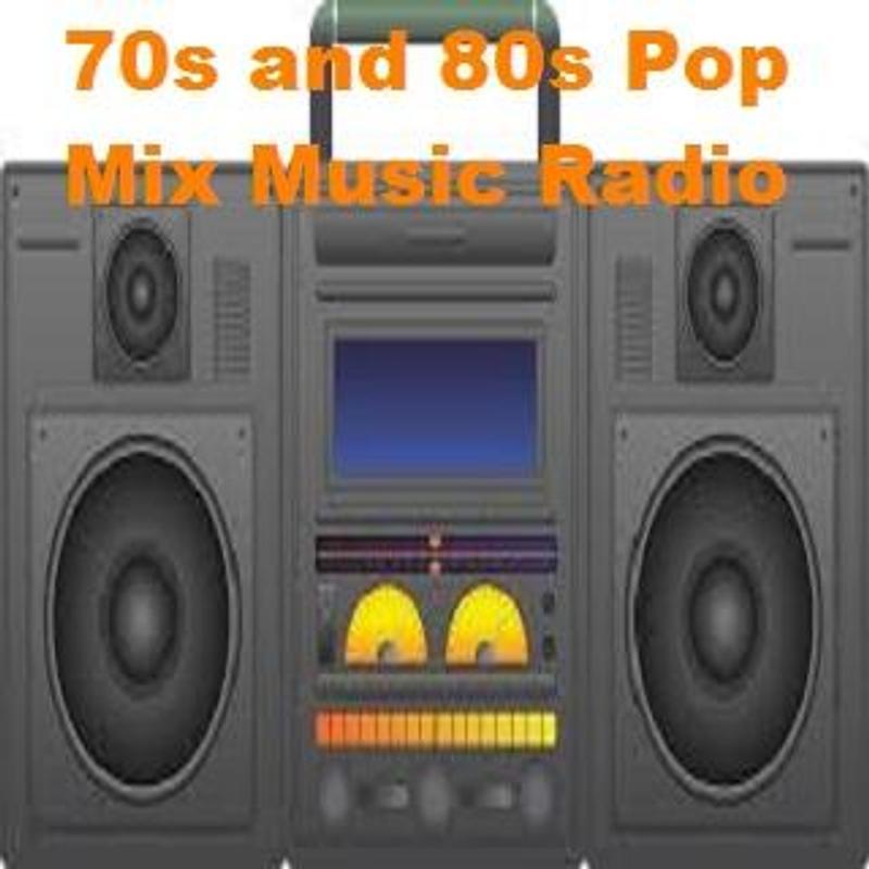 70s And 80s Pop Mix Music Radio Screenshot 1