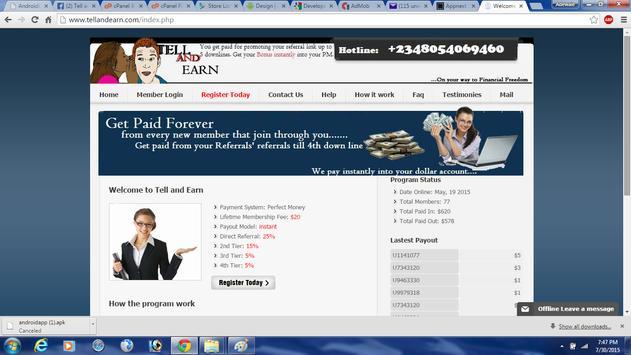 Tell and Earn screenshot 23