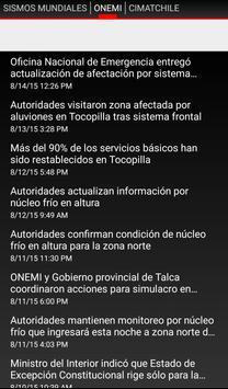 Alertas Chile apk screenshot