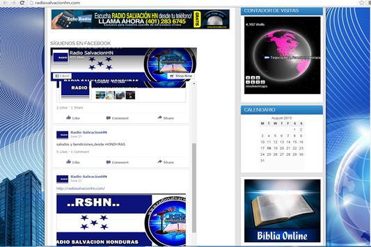 RADIO SALVACION HN screenshot 1