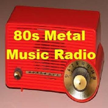 80s Metal Music Radio poster