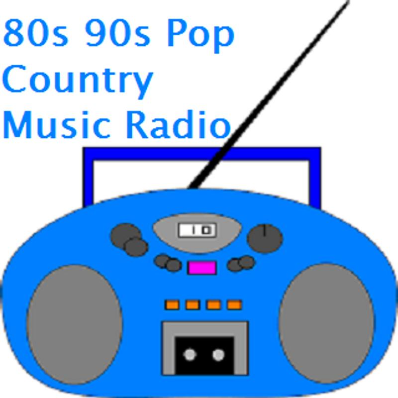 80s 90s Pop Country Music Radio 1