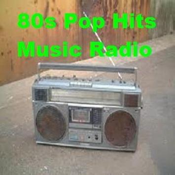 80s Pop Hits Music Radio poster