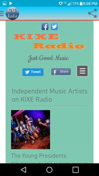 KIXE Radio apk screenshot