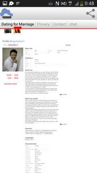 Dating For Marriage screenshot 2