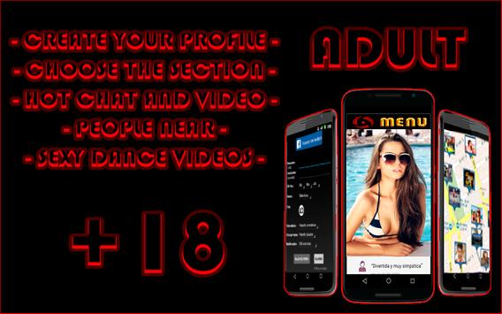 Chat & Videos Hot only Adult poster
