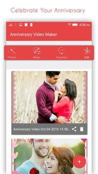 Anniversary Video Maker poster