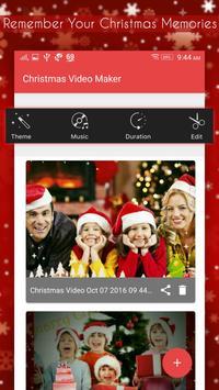 Christmas Video Maker poster