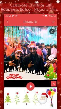 Christmas Video Maker apk screenshot