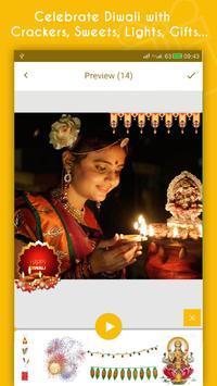Diwali Video Maker With Music apk screenshot
