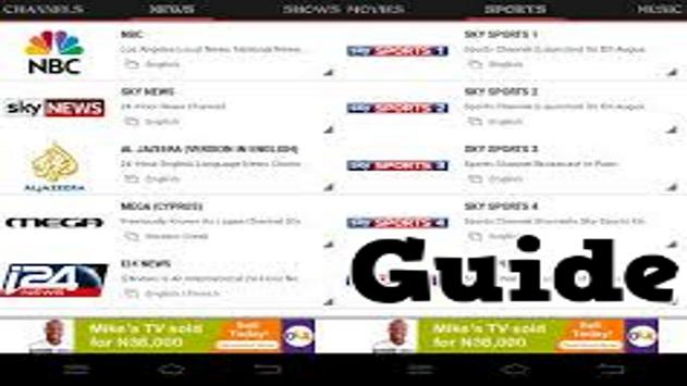 Guide for Pro Mobdro TV Online poster