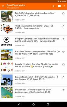 Bons Plans Malins screenshot 6