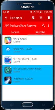 APP Backup Share Restore apk screenshot