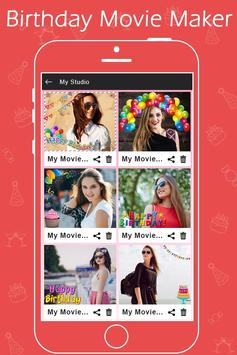 Birthday Photo Video Maker with Music apk screenshot