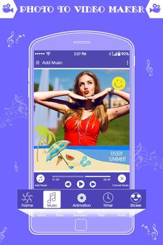 Photo Video Maker With Music : Slideshow Maker screenshot 2
