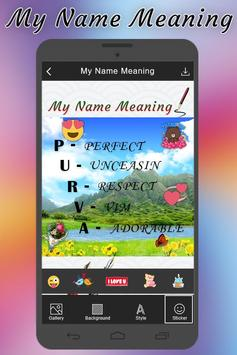 My Name Meaning apk screenshot