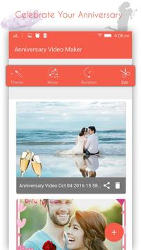 Anniversary Movie Maker apk screenshot