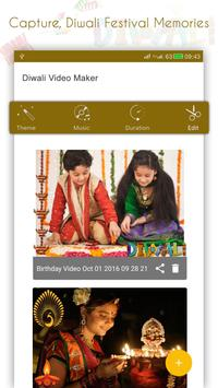 Happy Diwali Movie Maker apk screenshot