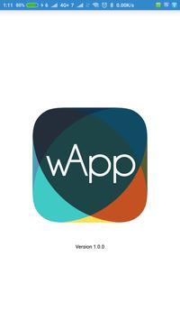 wApp poster