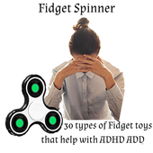 30 hand Fidget Spinner Toys for ADHD Reference app icon