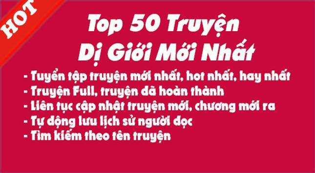 Top 50 Truyện Huyền Huyễn Mới Nhất Truyện Full Hay screenshot 1