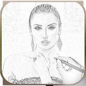 أرسم صورتك بالقلم و الألوان 🌹 icon