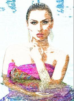 أرسم صورتك بالقلم و الألوان 🌹 apk screenshot