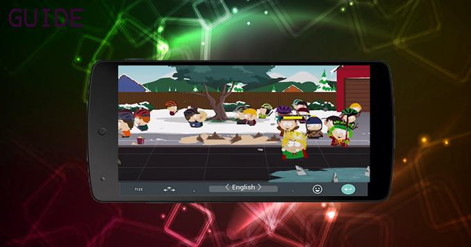 guide SOUTH PARK THE FRACTURED BUT WHOLE apk screenshot