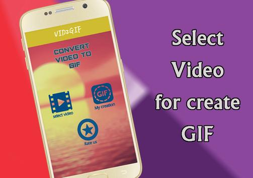 ViD2GiF - Video To Gif Converter hd screenshot 1