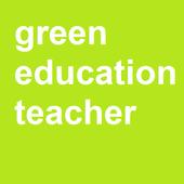 Green Education Teacher icon