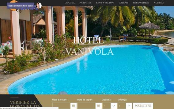 Hôtel*** Vanivola apk screenshot