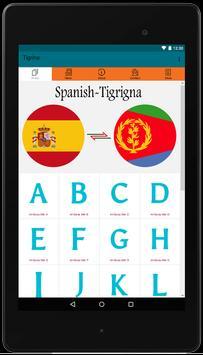 Spanish-Tigrigna Dictionary App For Free Use screenshot 5