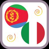 Tigrinya to Italian Learning Easy Dictionary App icon