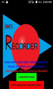 Joe's Recorder (Audio) poster