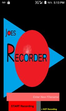 Joe's Recorder (Audio) screenshot 2