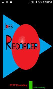 Joe's Recorder (Audio) screenshot 3