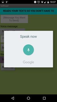 txtRead (Read My SMS) screenshot 1